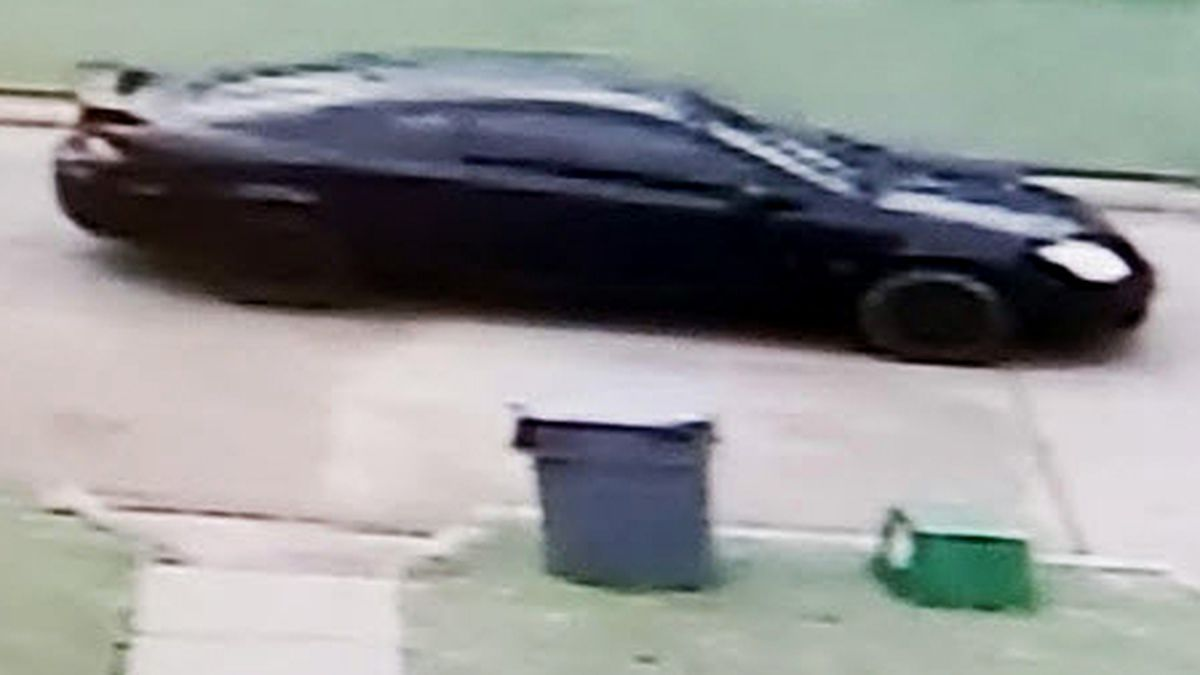 Omaha Police are looking for this vehicle in connection with a newborn baby who was left on a porch Monday morning, April 6, 2020, near 15th and U streets. Anyone with information is asked to call the Omaha Police Department's Child Victims Unit at 402-444-5636 or Crime Stoppers at 402-444-STOP (7867). (Courtesy of Omaha Police)