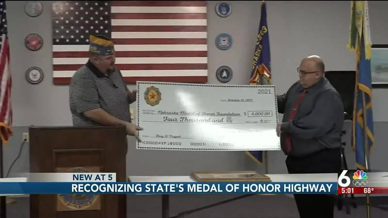 Recognizing Nebraska's Medal of Honor Highway