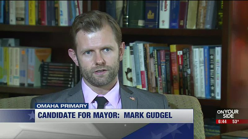 Omaha mayoral candidate Mark Gudgel