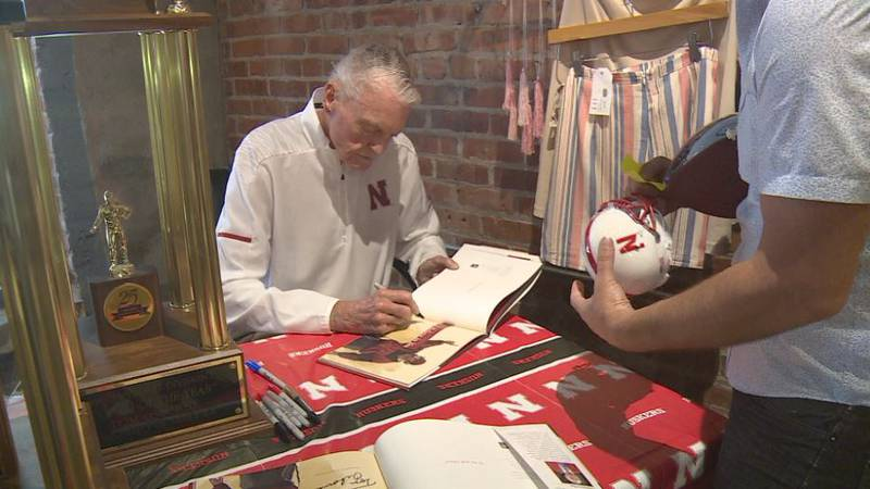 "Former head coach of Nebraska football Tom Osborne released a children's book called ""I Believe..."
