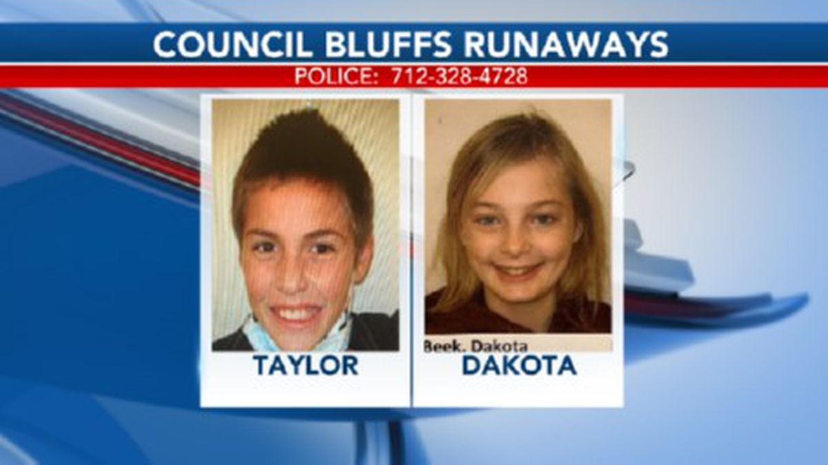 Taylor & Dakota ran away from Children's Square USA in Council Bluffs