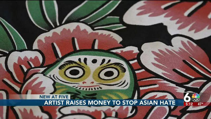 Artist combats Asian hate