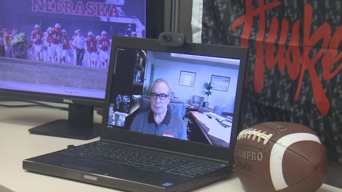 Nebraska athletic director Bill Moos chats with 1011 NOW following the first week of voluntary...