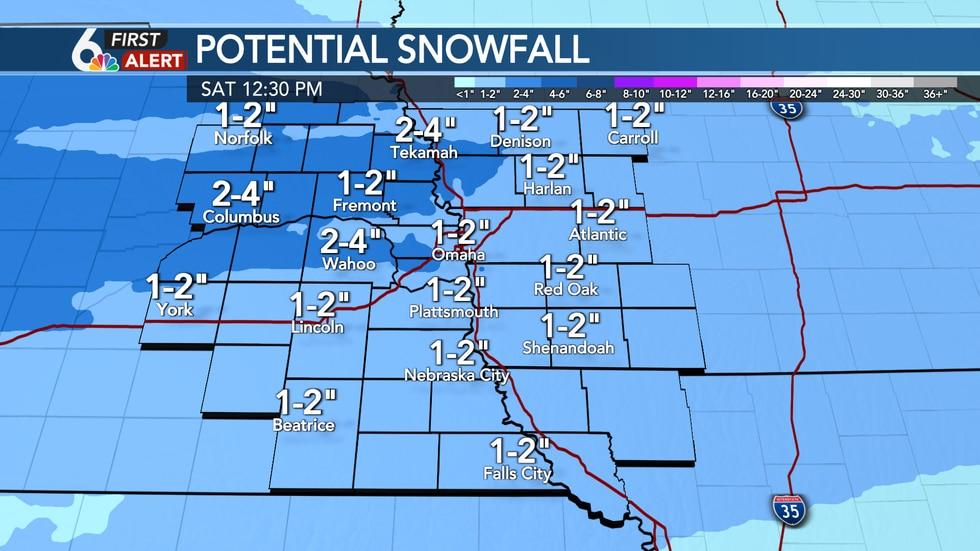 Friday Night Snow Potential