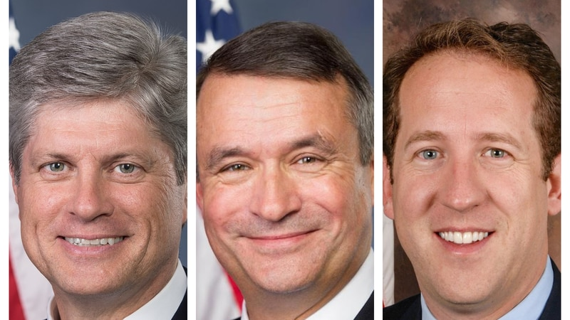 Reps. Jeff Fortenberry (NE-01), Don Bacon (NE-02), and Adrian Smith (NE-03)