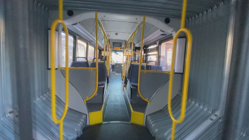 Metro Transit officials offer a first look at new ORBT buses.