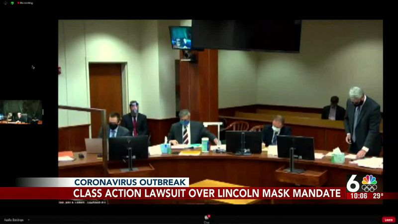 A class-action lawsuit against the city of Lincoln over the mask mandate will continue.