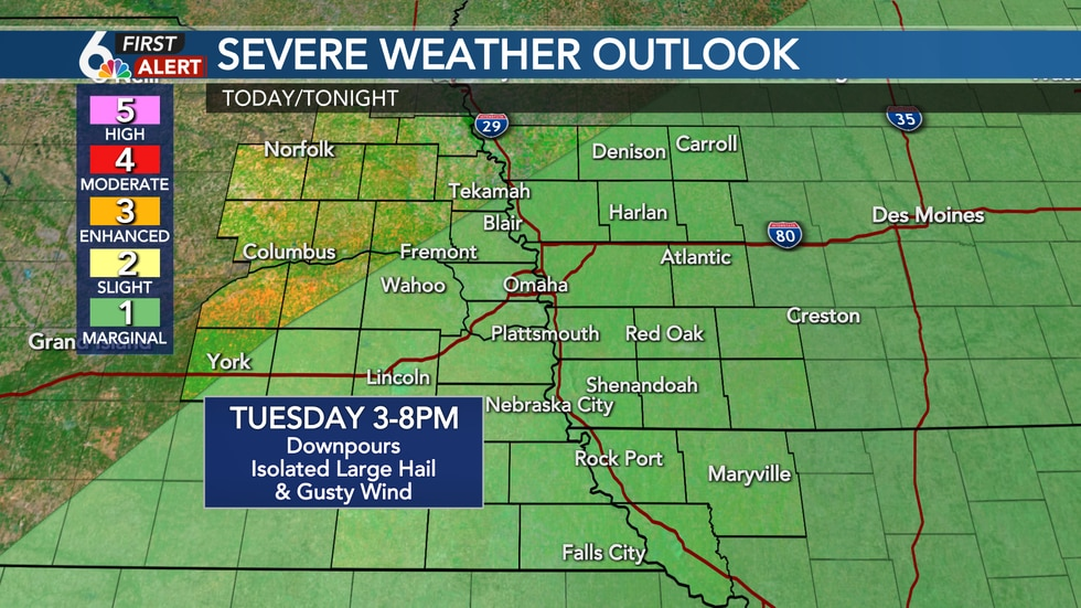 Tuesday Severe Threat