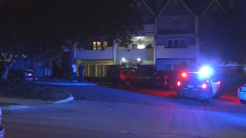 Omaha Police officers swarmed a home near 37th and Dodge Streets around 1:30 a.m. Thursday...