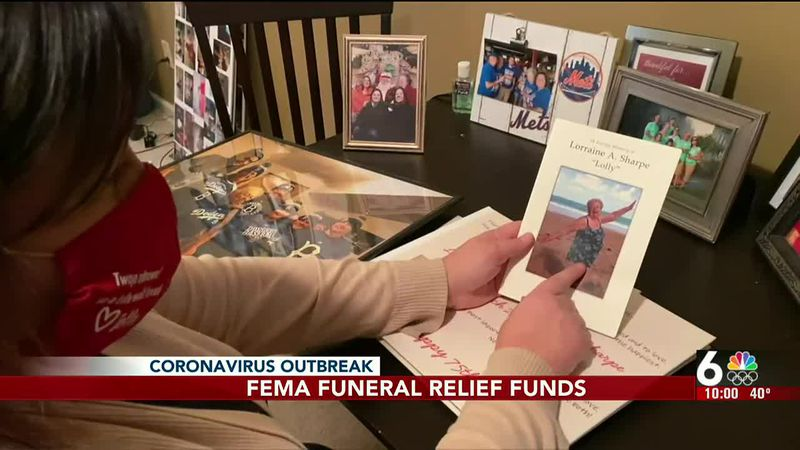 FEMA funeral relief funds - 10 pm