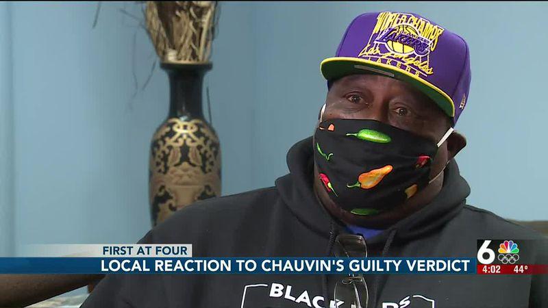 Omaha community reacts to Chauvin verdict