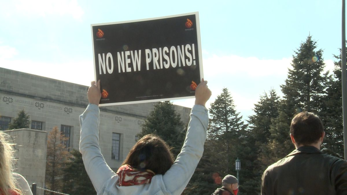 Nebraskans protested against new prisons at the Capitol on Saturday, February 27th. This comes...