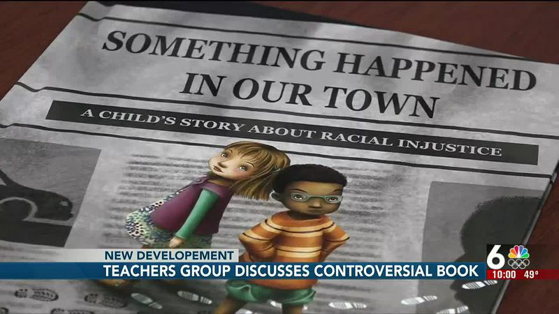 Teachers group discusses controversial book - 10 pm