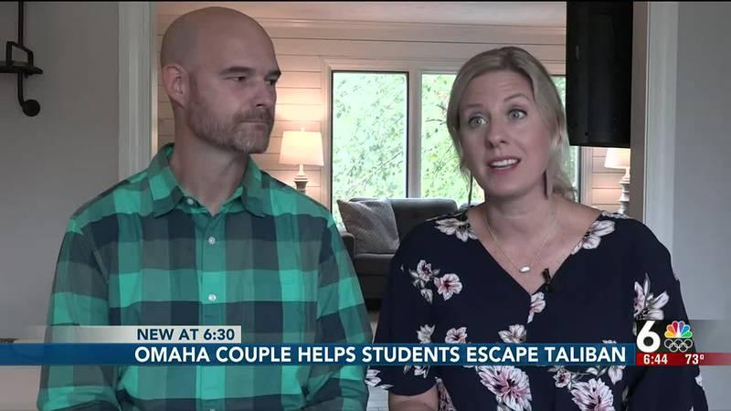 Omaha couple helps Afghans escape