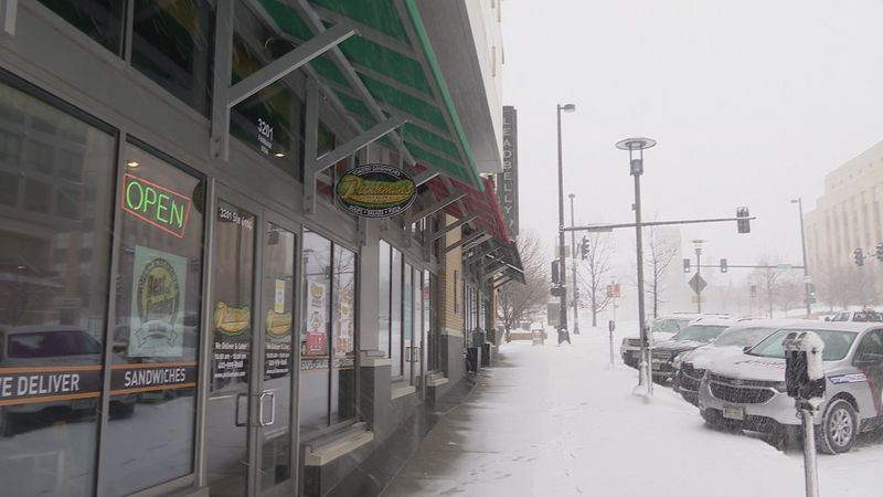 Despite much of the Metro being covered in several inches of snow Pickleman's in Midtown kept...