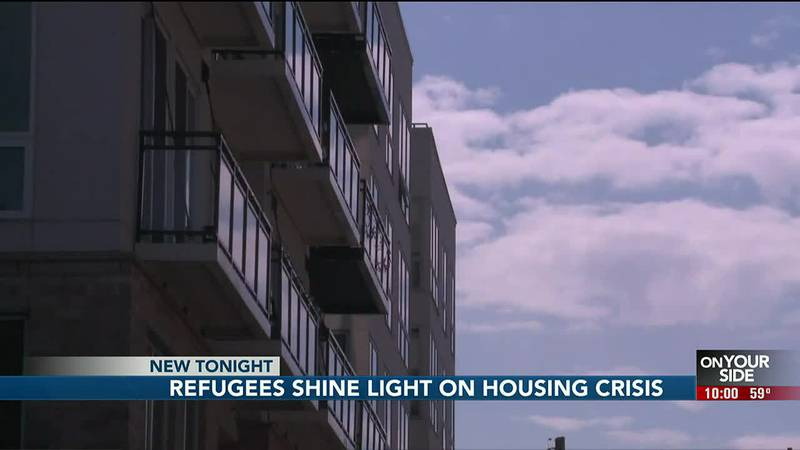 The scramble is on to find safe and affordable housing for more than 500 Afghan evacuees...