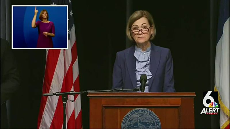Iowa Gov. Kim Reynolds announced Wednesday, April 7, 2021, that the state would create a new...