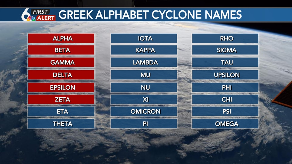 """Only the second time """"Zeta"""" has been used to name a tropical cyclone"""
