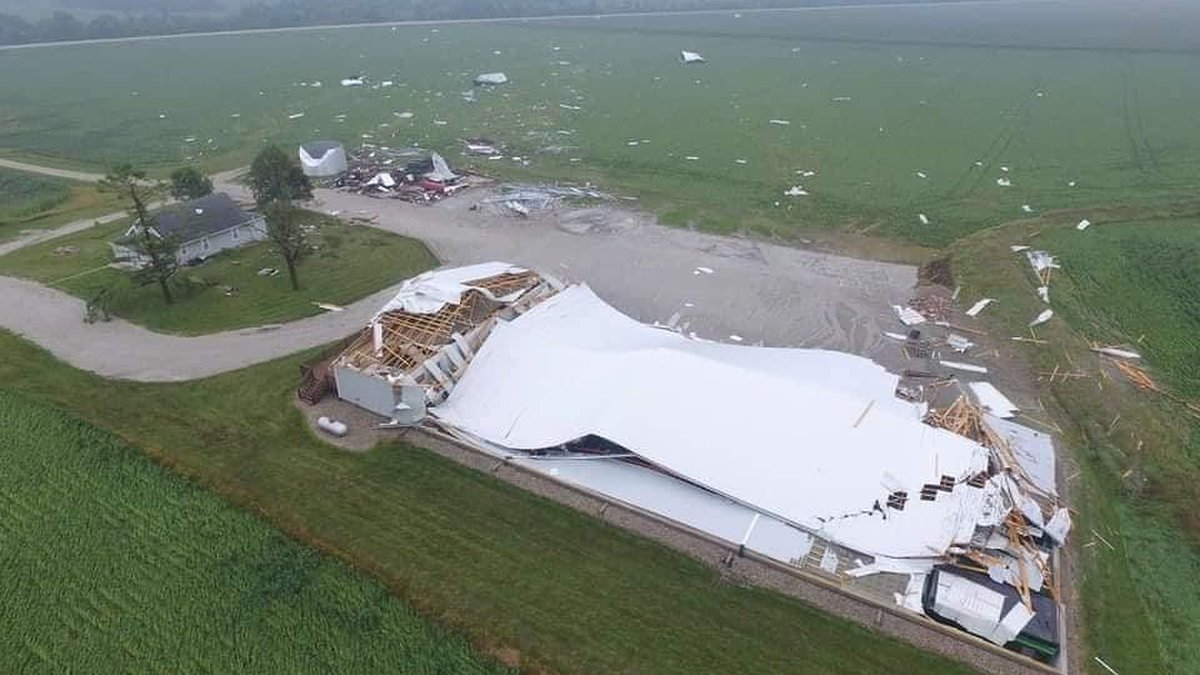 Damage from Harrison County, IA